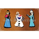 Set Martisor Olaf, Anna, Elsa(Frozen) - 1buc