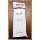 Set Cutie carton martisor Martie cu fereastra  11x5x1cm + Punga celofan Martie - 10buc