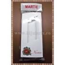 Set Cutie carton martisor Noroc gargarita cu fereastra 11x5x1cm + Punga celofan Martie - 10buc