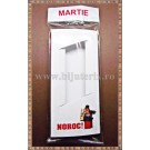Set Cutie carton martisor Noroc cosar cu fereastra 11x5x1cm + Punga celofan Martie - 10buc
