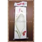 Set Cutie carton martisor Martie fluture cu fereastra 12,5x4,5x1cm + Punga celofan Martie - 10buc