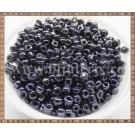 Margele nisip 4mm - negru metalizat(50gr)