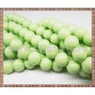 Margele - sticla acrilica 10mm - verde deschis (10buc)