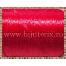 Panglica satin rosu 0,3cm - 5m