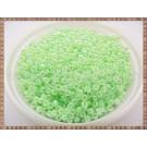 Margele nisip 2mm - verde deschis perlat (50gr)