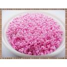 Margele nisip 2mm - roz perlat cu interior fucsia(50gr)