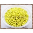 Margele nisip 2mm - galben perlat (50gr)