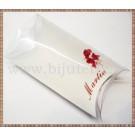 Set carton mare  + suport acetofan - Martie flori rosii - 10buc