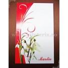 Carton martisor Martie 9x5,5cm - model 22 (50buc)