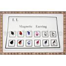 Cercei magnetici Lacrima - 6 perechi