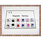 Cercei magnetici Rotunzi - 6 perechi