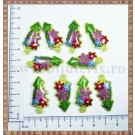 Martisor Sageata flori galbene - 10buc