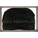Snur elastic 1mm - negru -9m