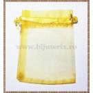 Saculet organza 8,5x7cm auriu