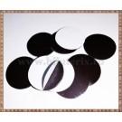 Discuri din banda magnetica 2,4cm - 5buc