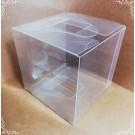 Cutie acetofan - simpla transparenta 8x8x11cm