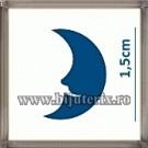 Perforator decor - Semiluna 1,5 cm