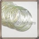 Baza Bratara - sarma cu memorie argintiu - 5cm (10spire)